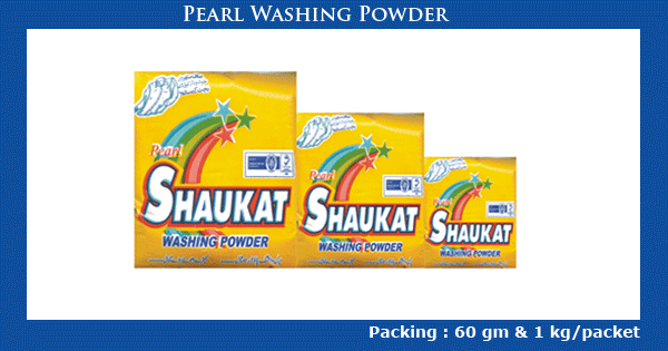 Pearl Washing Powder